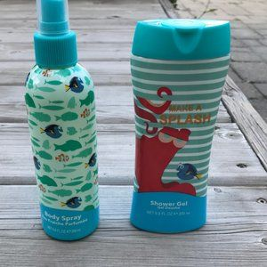 2/$18 FINDING DORY SHOWER GEL AND BODY SPRAY